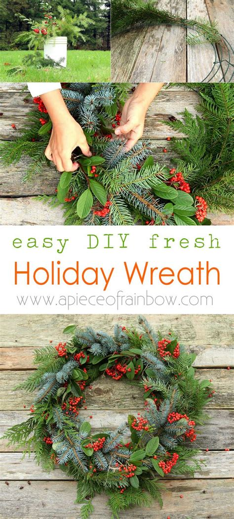 diy christmas wreaths ideas  pinterest