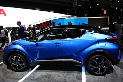 The development of the car began in 2013. photo TOYOTA C-HR 1.2 turbo 116 ch SUV 2016 - Motorlegend.com
