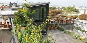 Amenagement Terrasse De Toit : am nagement d une terrasse sur les toits ~ Premium-room.com Idées de Décoration