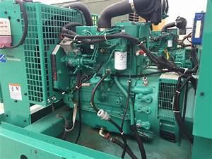 U201335 Kw Cummins  Onan Generator  Base Fuel Tank  12 Lead Reconnectable  480 Volt