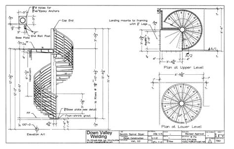 top ideas spiral staircase plans home building plans