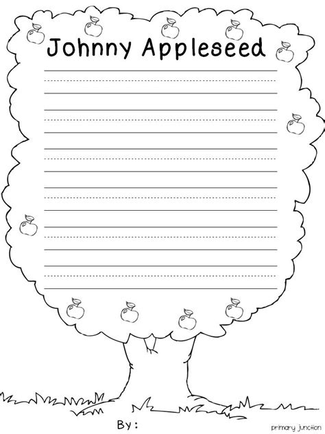 printable worksheets 187 johnny appleseed reading