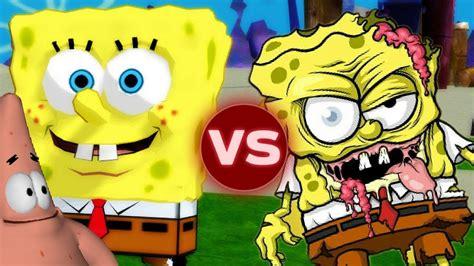 Spongebob Characters Vs Zombies! || Garry's Mod
