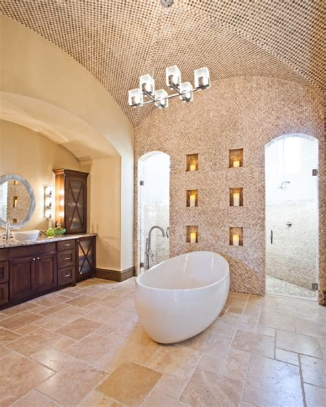 20+ Bathroom Tile Floor Designs, Plans, Flooring Ideas