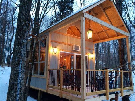 single mom builds off grid lakeside cabin near columbus ohio