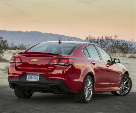 chevy ss release date redesign  specs