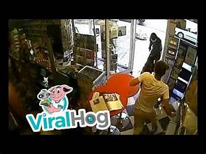 Dog Disarms Robber and Saves His Owner's Shop || ViralHog ...