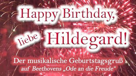 happy birthday liebe hildegard alles gute zum geburtstag