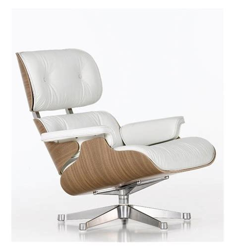 vitra eames lounge chair white version 412 094 22 office