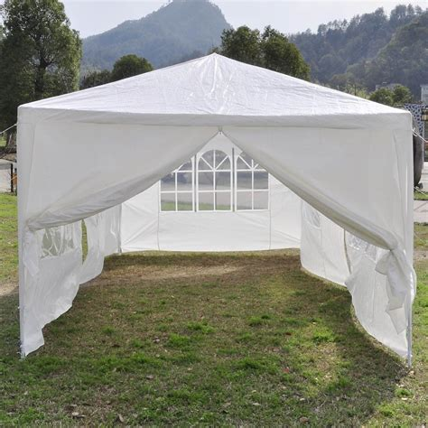 white party tent canopy gazebo