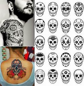 Tete De Mort Mexicaine Dessin : tatouage t te de mort original 40 id es memento mori ~ Melissatoandfro.com Idées de Décoration