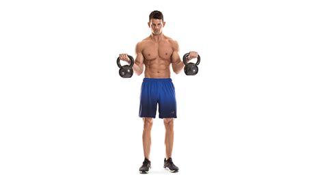 kettlebell biceps curl form proper exercises