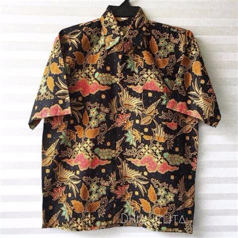baju batik lelaki fesyen lelaki pakaian di carousell