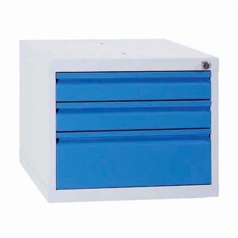 meuble de classement bureau caisson 3 tiroirs pour établi caisson à tiroirs en métal