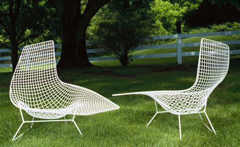 chaises bertoia bertoia asymmetric chaise lounge hivemodern com