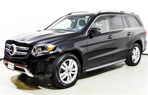 Build your 2021 gls 450 4matic suv. 2018 Mercedes-Benz GLS 450 4MATIC SUV | Black U15154