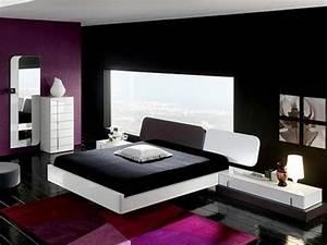 black wallpaper for bedroom 2017