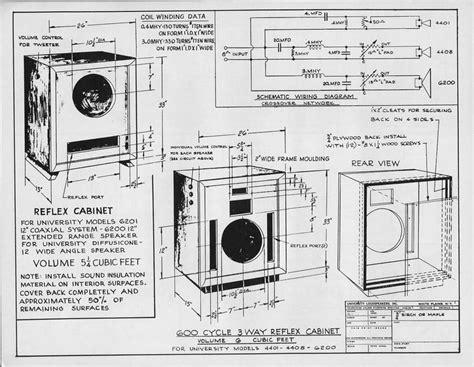 Lifier Cabinet Design by 413 Best Speaker Plans Images On