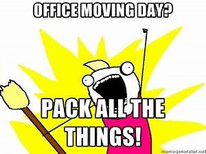 Office Moving Day | findfundsblog