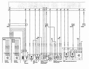 Mercedes-benz 500sel  1992 - 1993  - Wiring Diagram - Hvac Controls