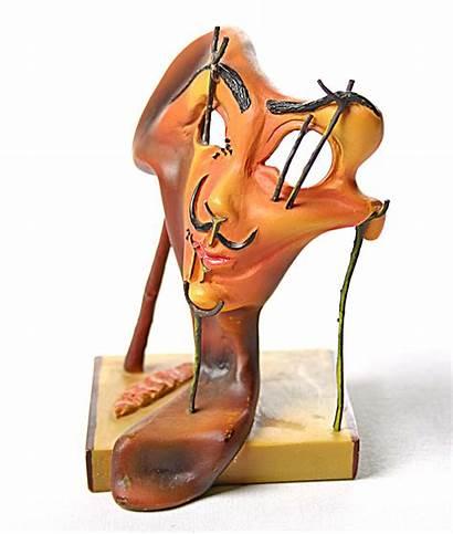 Dali Portrait Self Salvador Surrealism Bacon Statue