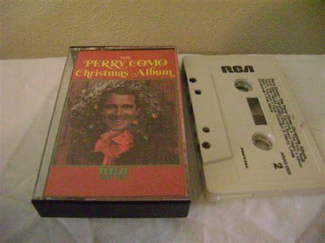 perry como xmas album the perry como christmas album audio music cassette tape
