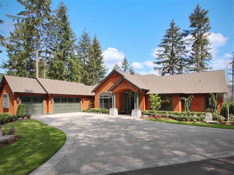 craftsman style homes plans nw craftsman daylight rambler