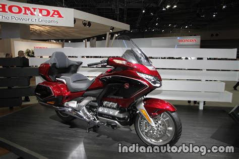 2018 Honda Goldwing Tour Front Right Quarter At 2017 Tokyo