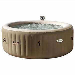 Spa Gonflable Intex Gifi : intex purespa 6 person bubble inflatable hot tub ~ Dailycaller-alerts.com Idées de Décoration