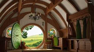 Hobbit House HD Wallpaper