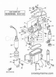fuel injection pump 1 2005 yamaha outboard 250hp With diagram of 2005 f225txrd yamaha outboard fuel injection pump 1 diagram