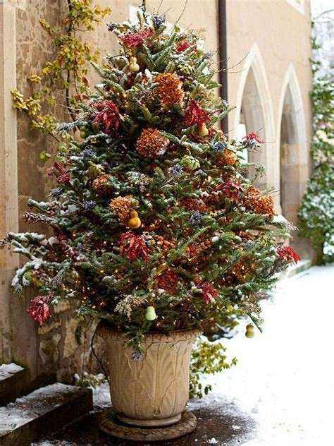 amazing outdoor christmas tree decorations ideas magment