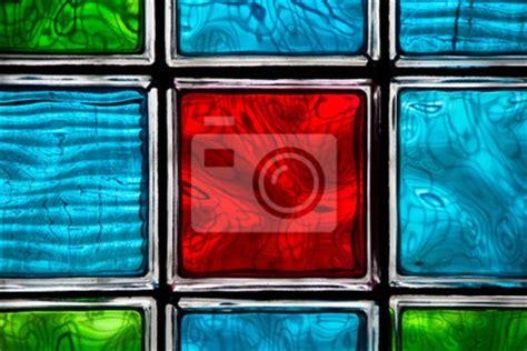 Alte Glasbausteine Verschönern by Obraz Luksfery Na Wymiar Tekstura Streszczenie Szkło