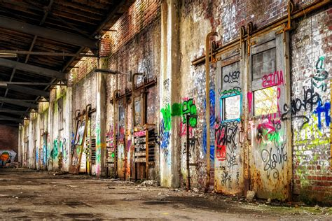 picture urban warehouse factory industry
