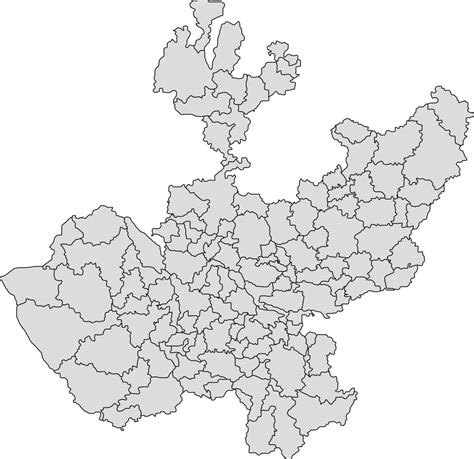 foto de File:Municipalities map of Jalisco svg Wikimedia Commons