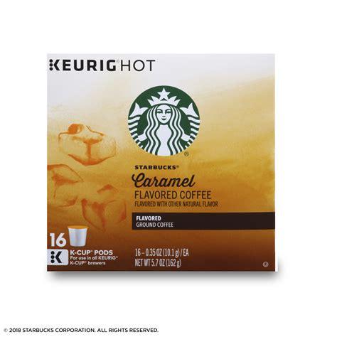 (24) starbucks caramel ground coffee keurig hot k cup pods nib.35oz/ea 2018. Starbucks Caramel Ground Coffee Nutrition | Besto Blog