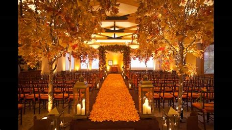 Cheap Fall Wedding Decorating Ideas
