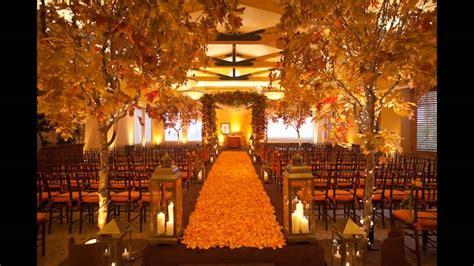 Cheap fall wedding decorating ideas YouTube
