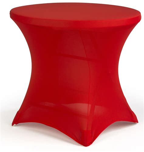 trade show table covers amazon cocktail spandex table cover red stretch fabric