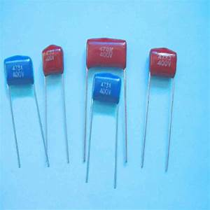 China Metallized Polyester Film Ac Shunt Capacitor  Cl21b