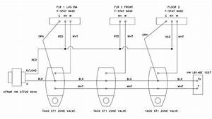 Taco 3 Wire Zone Valve Wiring Diagram Collection