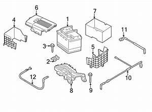 Volkswagen Jetta Gli Battcover  Battery Box  Battery Cover