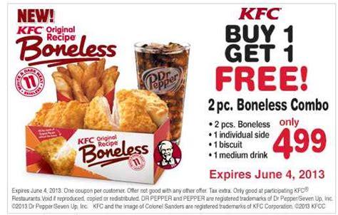 kfc coupons passion  savings