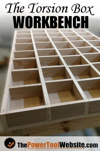 torsion box workbench wood shop ideas woodworking