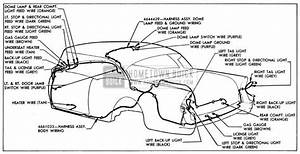 1955 Buick Body Wiring Circuit Diagram
