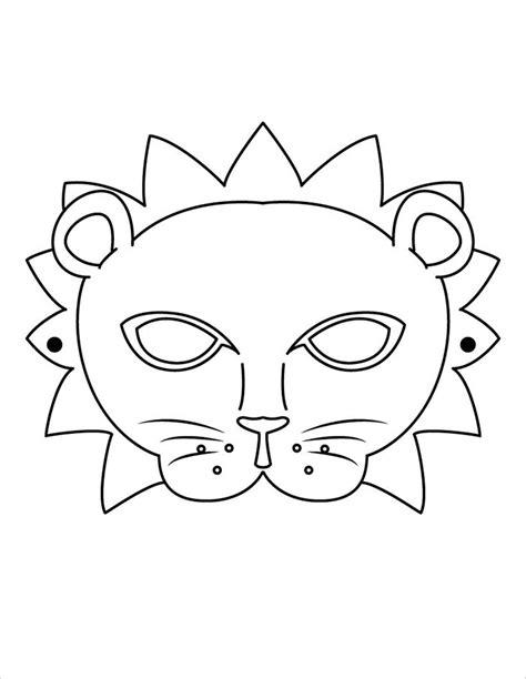 mask template animal mask template animal templates free premium templates