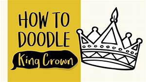 How To Draw A King Crown  Easy Step By Step Drawing And