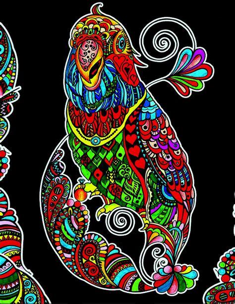 disegni da colorare  velluto pennarelli inclusi