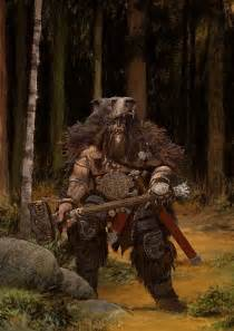 Viking Warrior Bear Art
