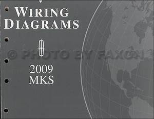 2009 Lincoln Mks Electrical Wiring Diagrams Original